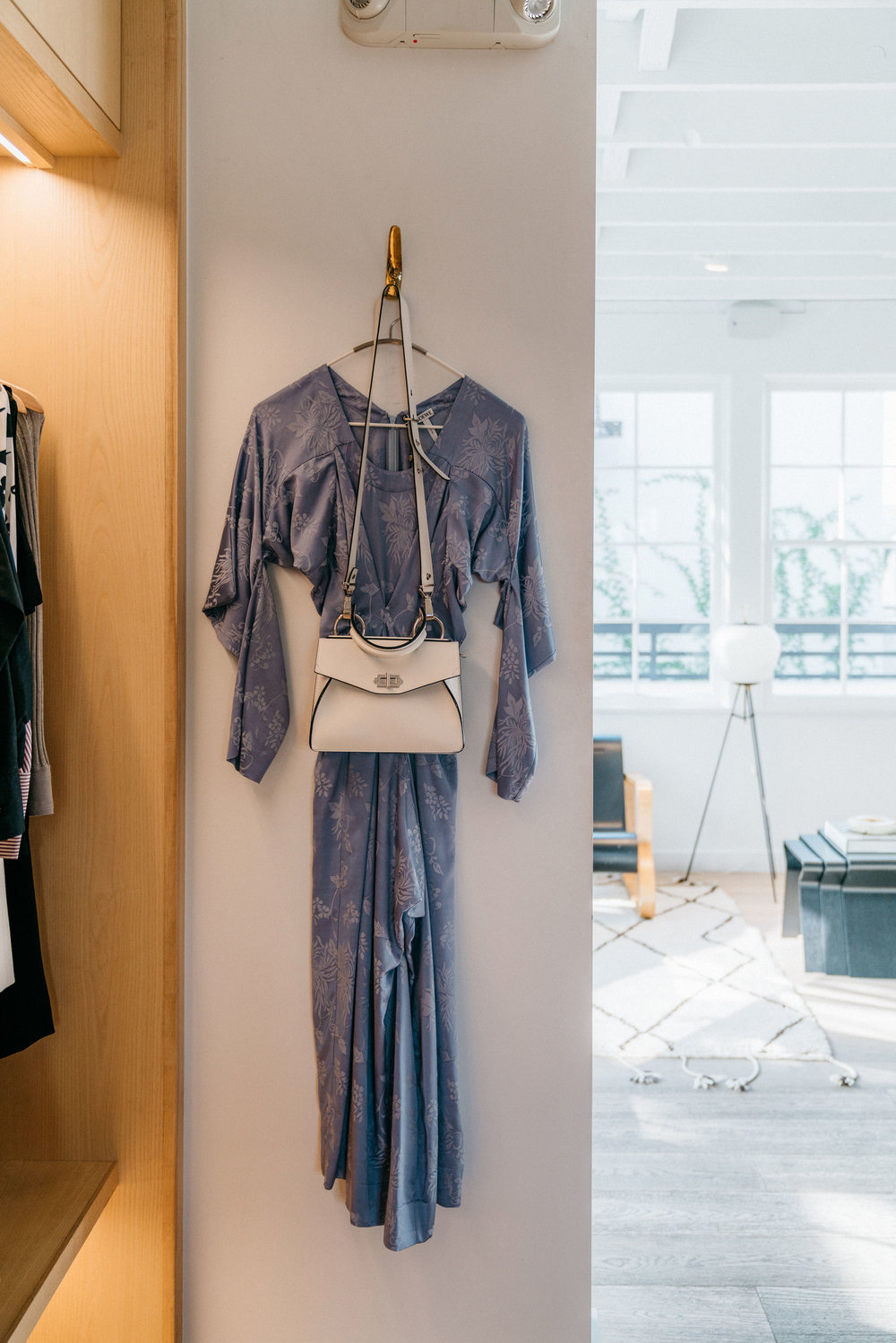 Loewe Dress, Proenza Schouler Bag