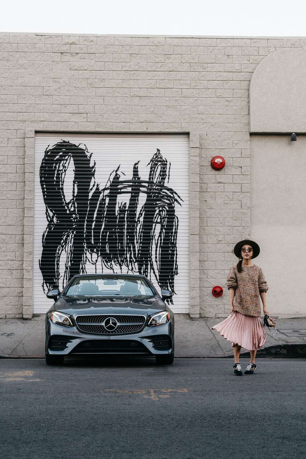 The E400 Cabriolet via  She's Merecdes , and I