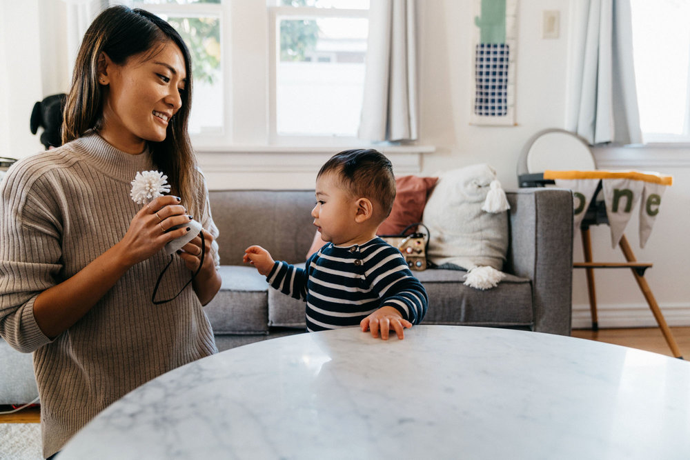Cynthia  + Eli's for little Mile's 1st birthday!