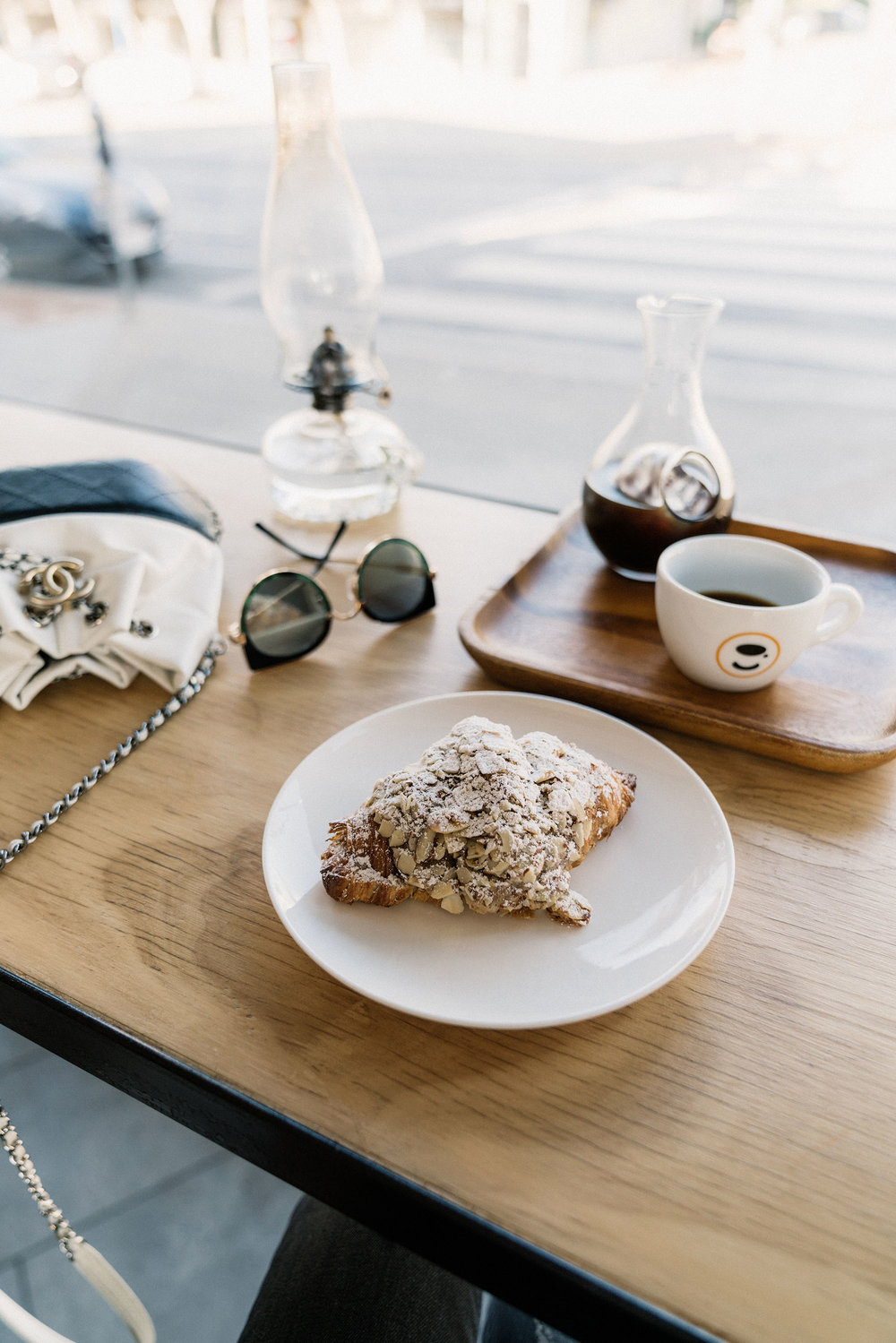 Quick coffee stop at  Demitasse