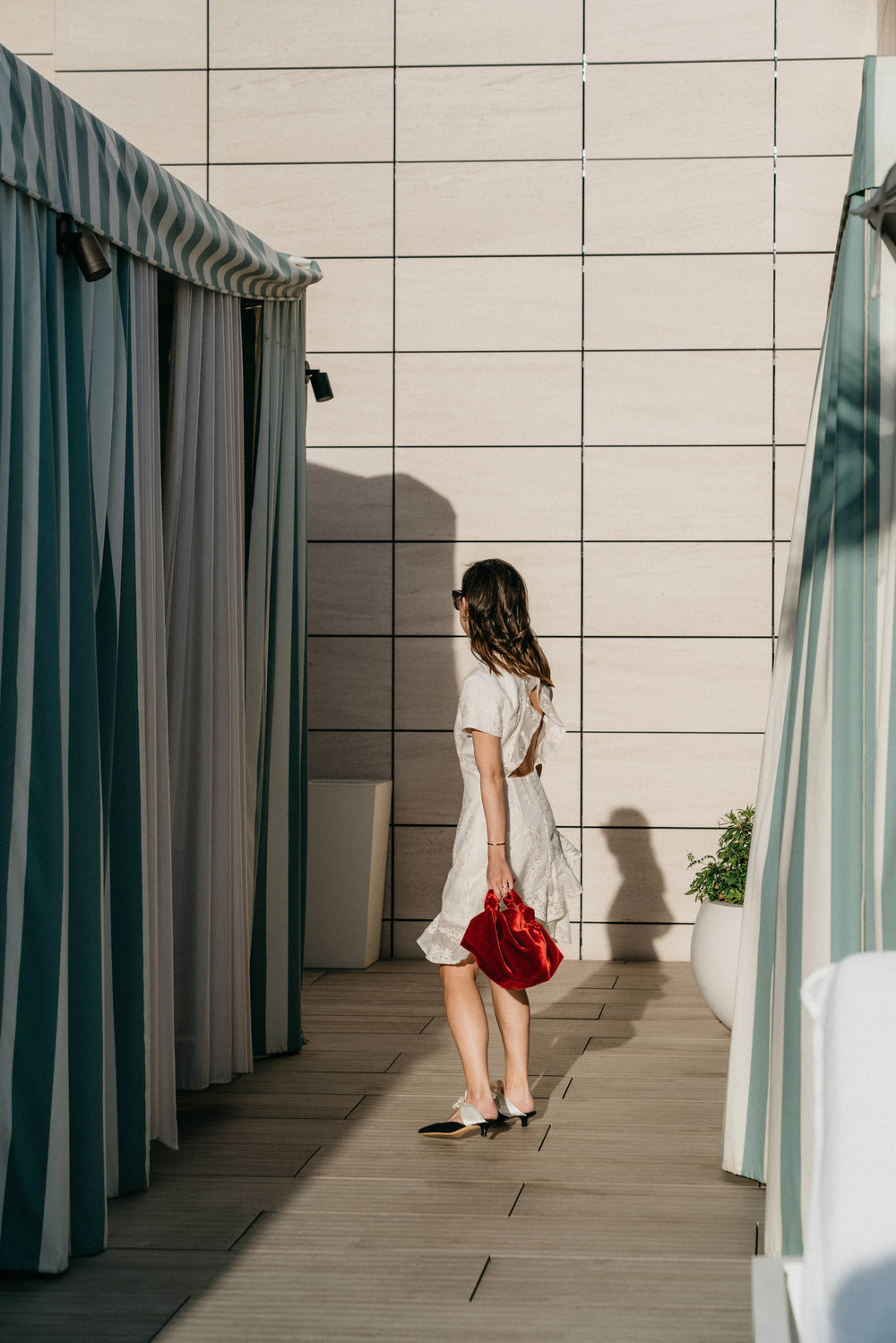 Zimmermann Dress ,  The Row Bag ,  The Row Shoes
