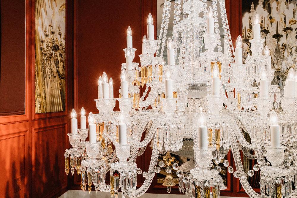Baccarat + FLOS Launch 'Bon Jour Versailles'