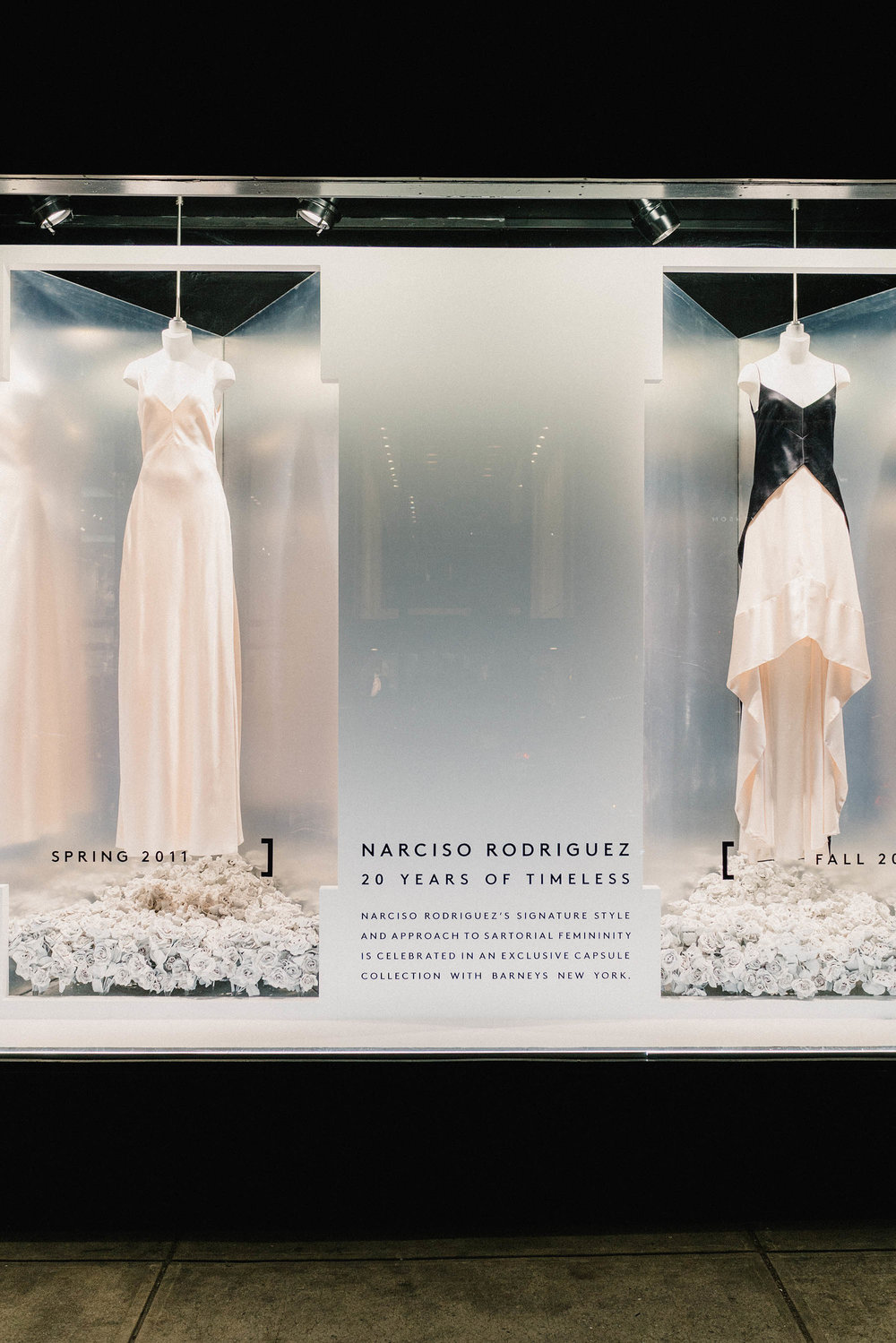 Narciso Rodriguez 20 Years of Timeless at Barneys New York