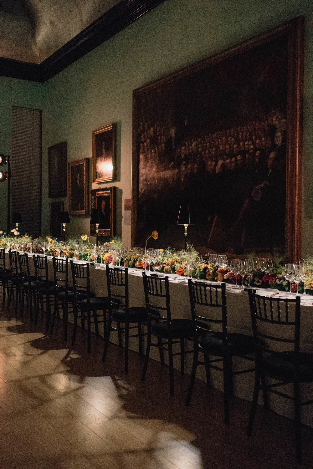 Celebratory dinner with  NARS  and designer  Erdem Moralioglu  at the  National Portrait Gallery
