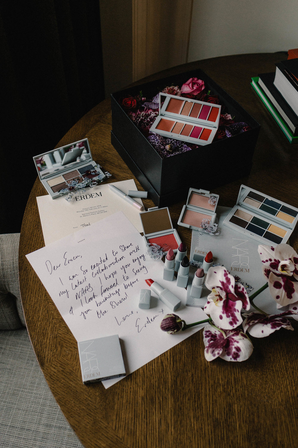 The gorgeous 13-piece limited-edition  NARS x Erdem Collection , 'Strange Flowers'