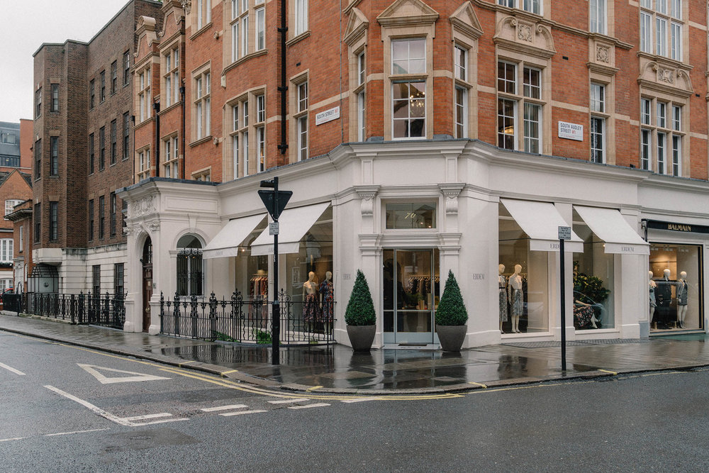 A trip to the  Erdem London Store  in Mayfair