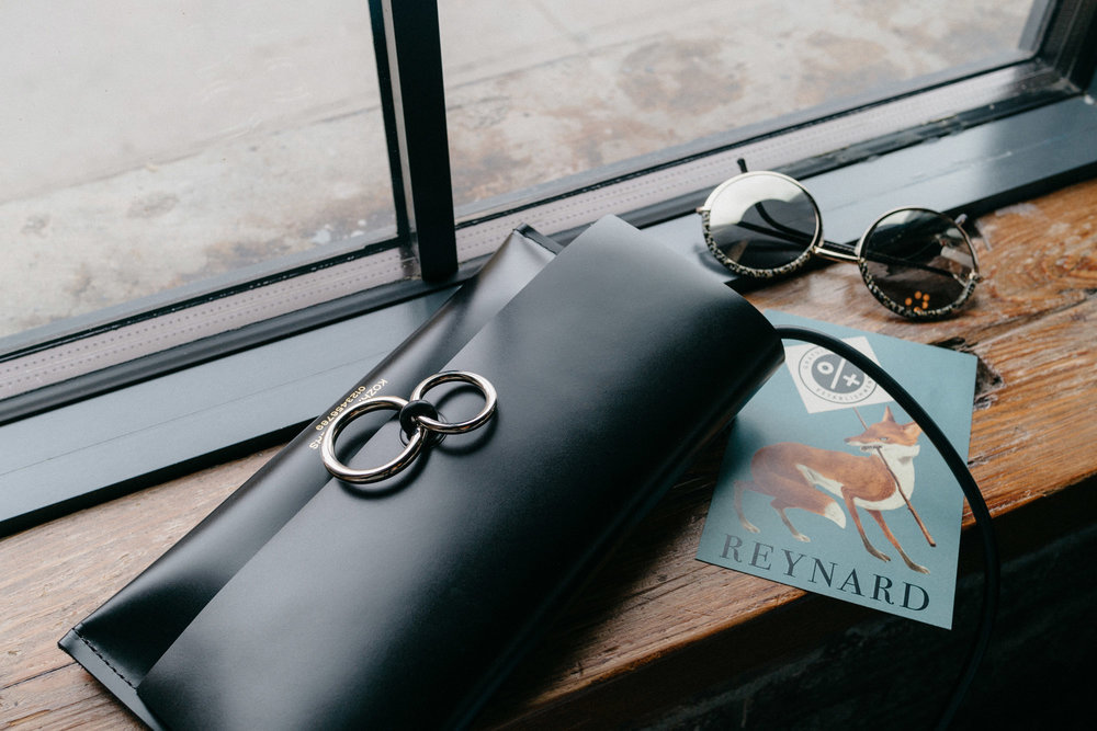 Kozha Numbers Bag , Cutler and Gross Sunglasses