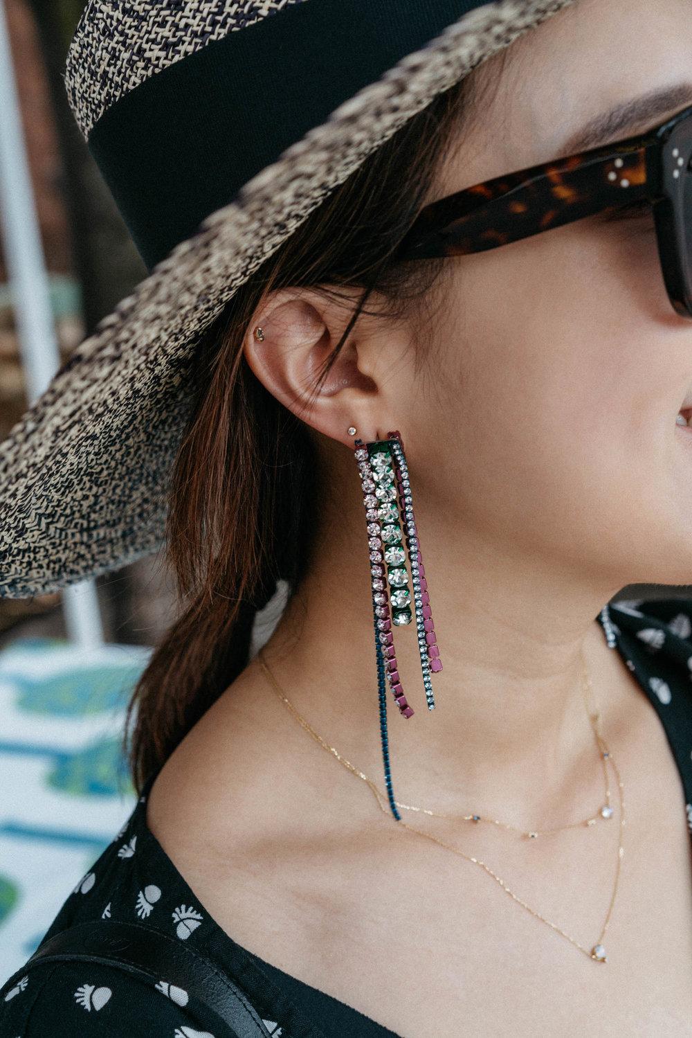 Area Earrings ,  WWAKE Necklaces