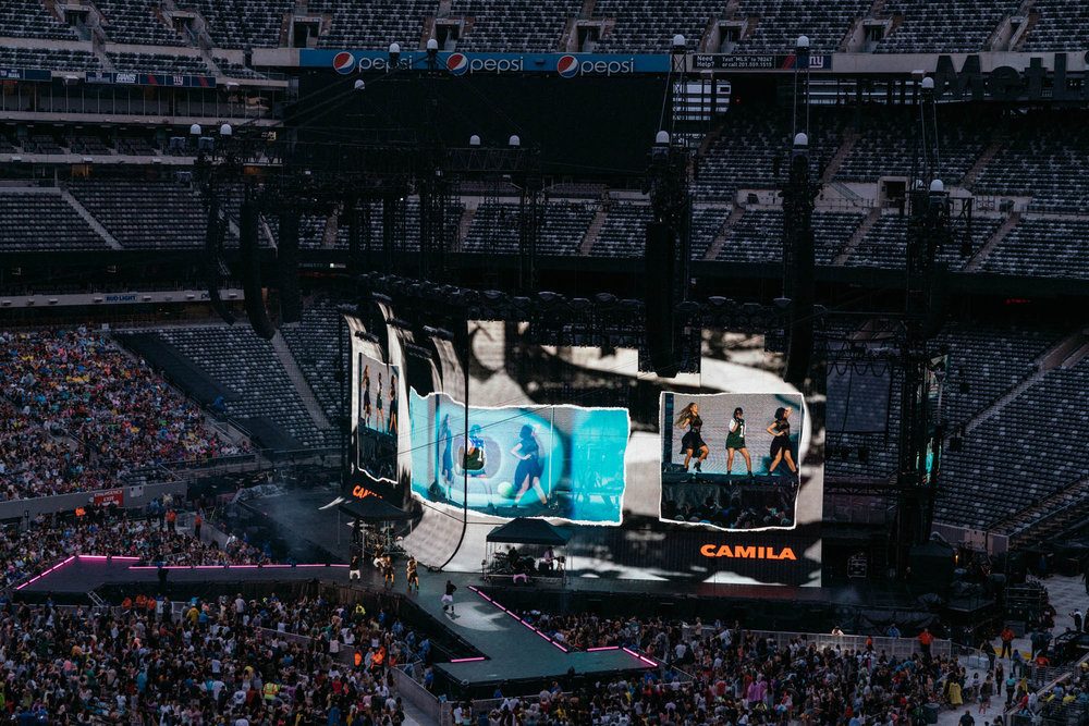 Camila Cabello opening for Taylor Swift Reputation Tour at Metlife Stadium