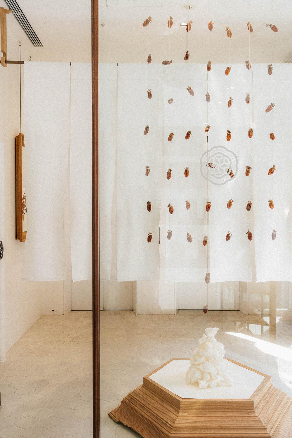 HIGASHIYA GINZA , an extraordinary wagashi/dessert shop and café