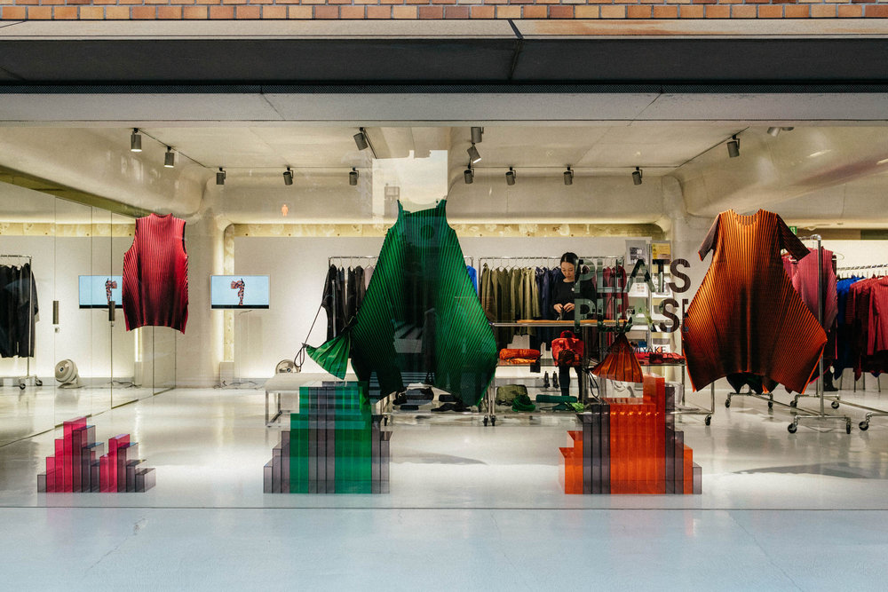 ISSEY MIYAKE stores everywhere – newfound appreciation and respect for this designer on this trip.