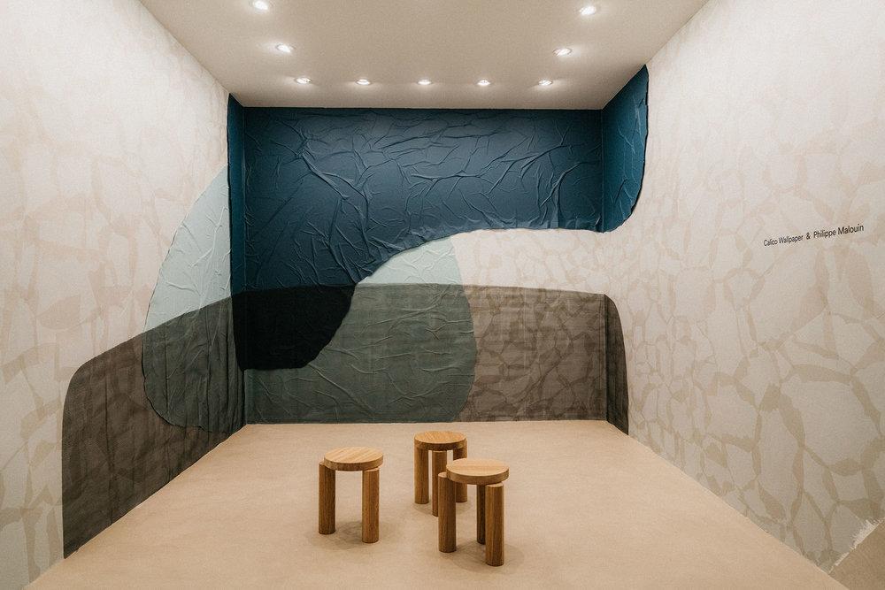 Calico Wallpaper & Phillip Malouin