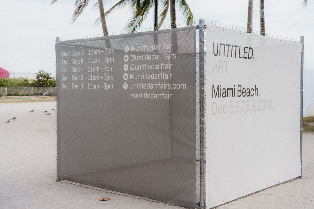 Untitled Art, Miami Beach