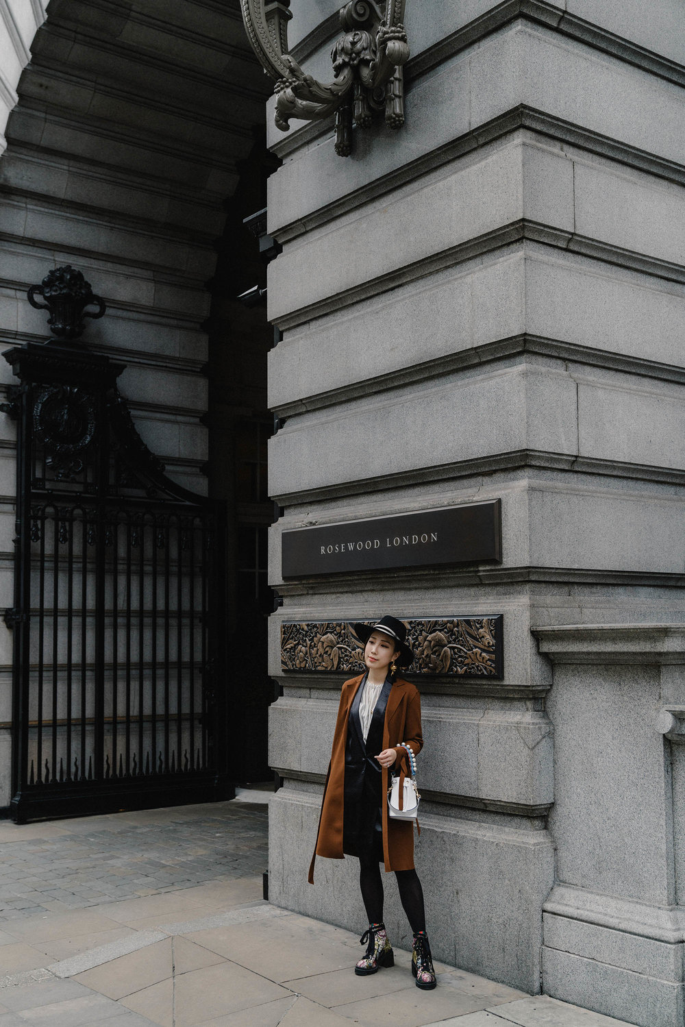 Erica in London for NARS x Erdem