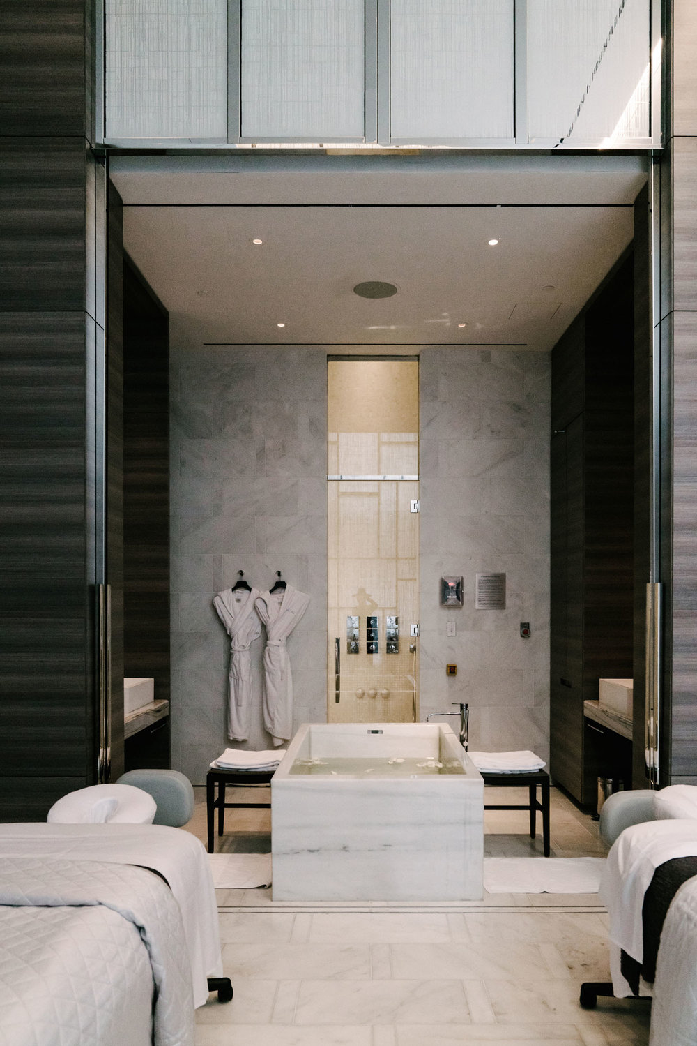 time to take a breather - Places to relax and treat yourself – be it a facial, a spa visit, an indulgent mani/pedi, or new hair!Shown here:Spa Nalai at Park Hyatt New York