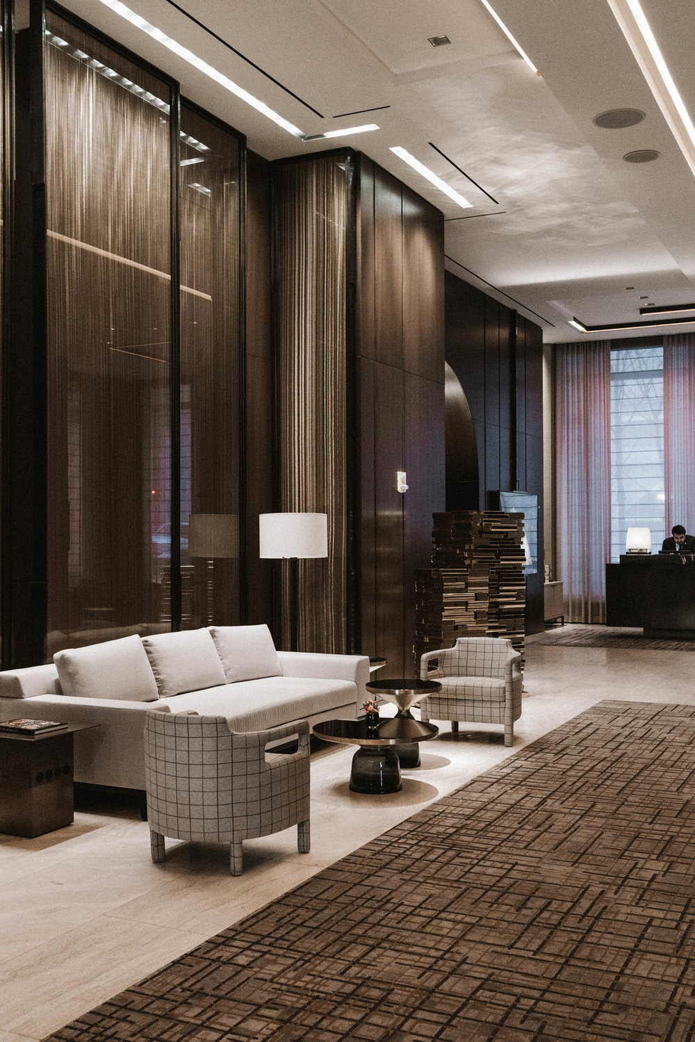 Staycation at  Four Seasons Hotel New York Downtown