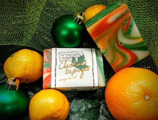 christmas orange soap bar - Christmas Oranges