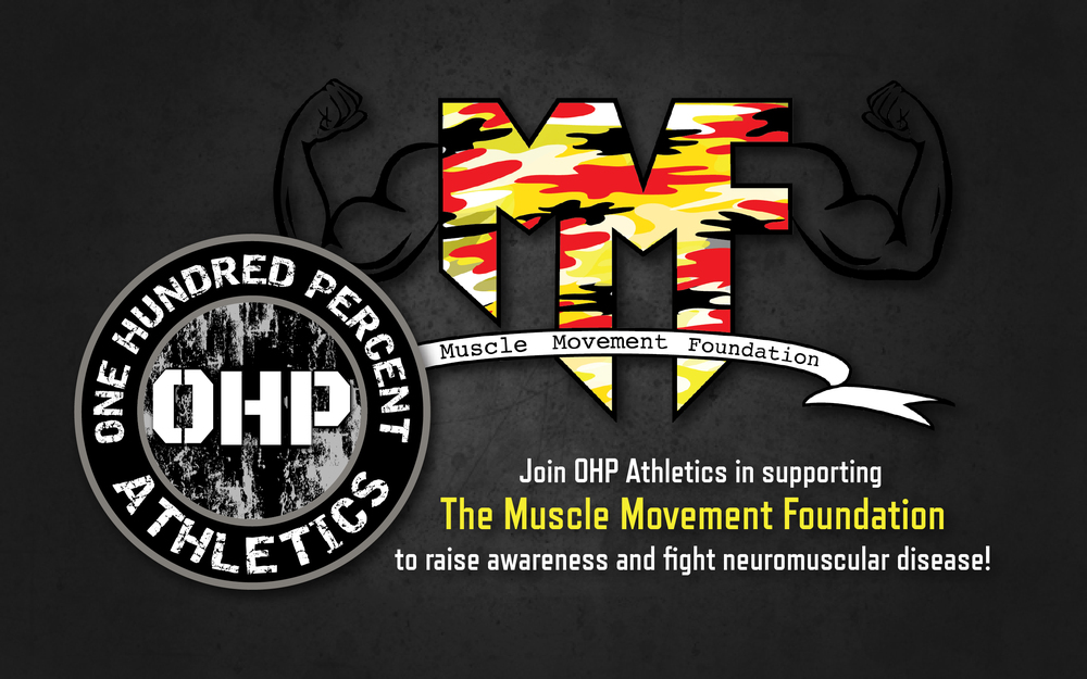 OHP Athletics partners with The Muscle Movement Foundation!