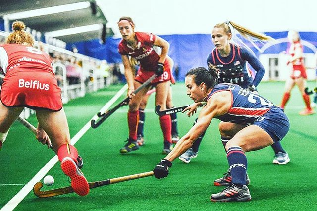 2014 URSULINE Alum Laura Hurff killing it on The USA National Field Hockey Team . #uahoopsfamily #diesel#🇺🇸