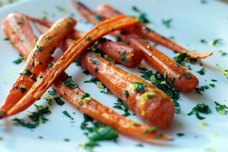 how to cook caramelized carrots