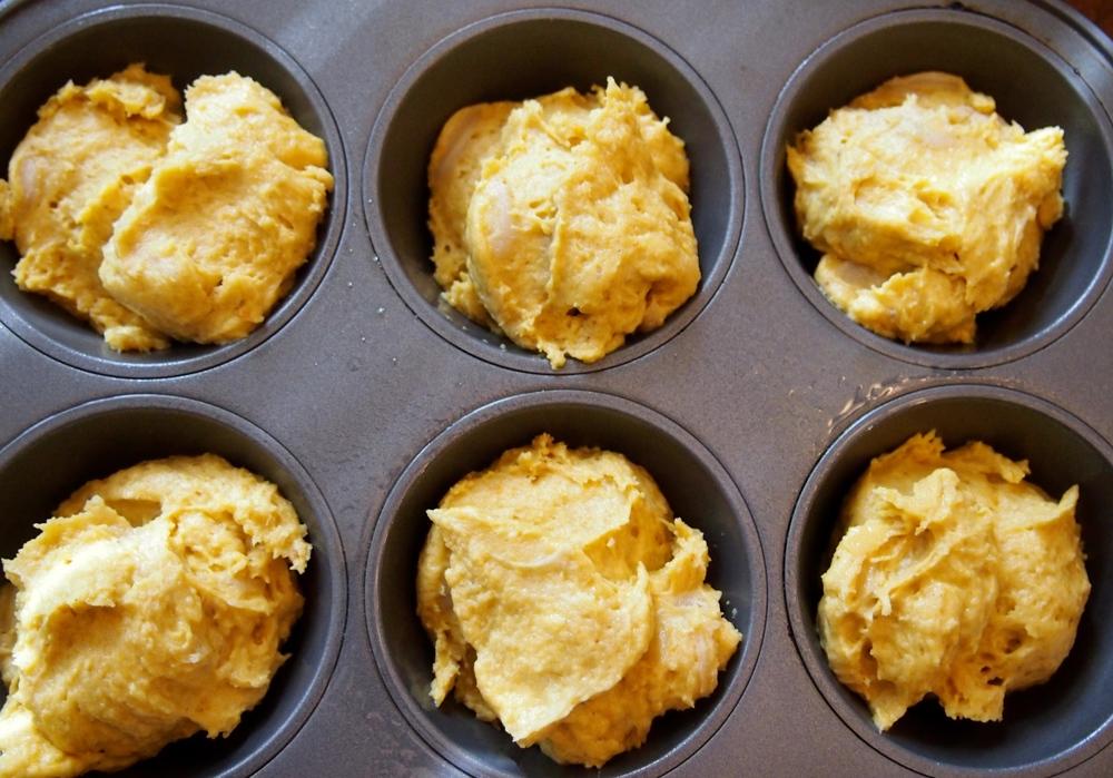 pumpkin doughnut muffins — double thyme