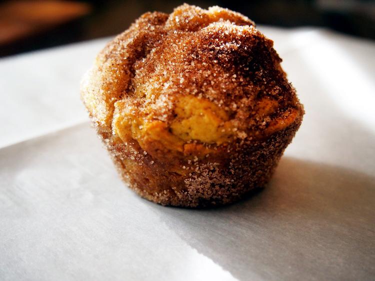 pumpkin-dougnut-muffins