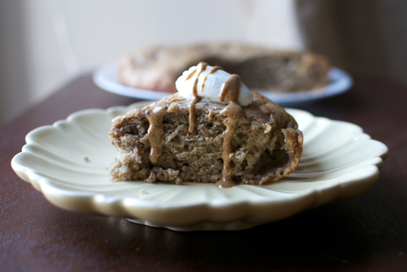 whole-wheat-banana-breakfast-cake-almond-butter-swirl