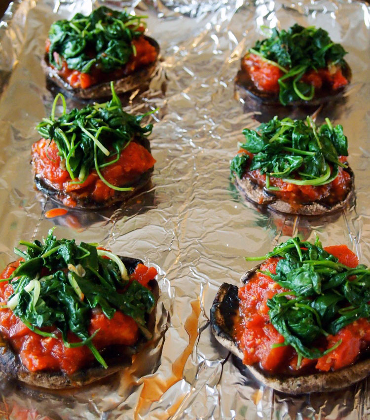 stuffed-portobello-mushrooms-caps