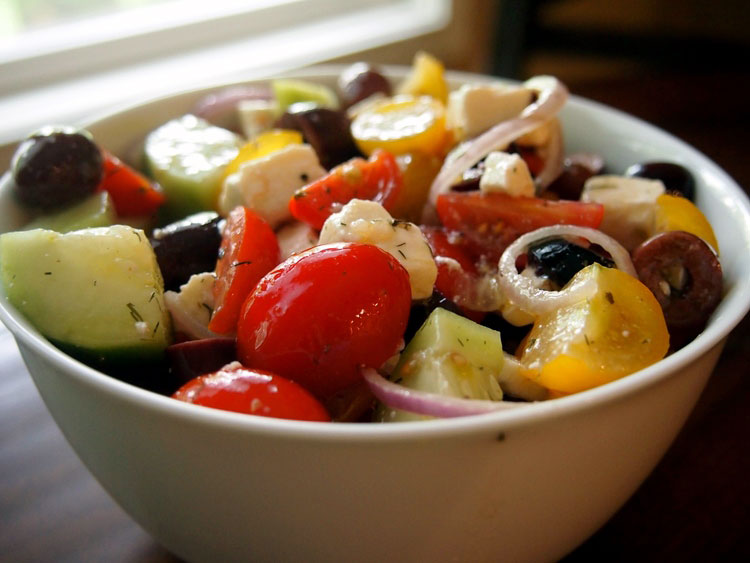 rainbow-greek-salad