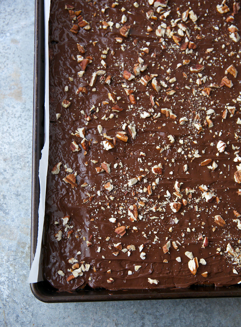 Chocolate Caramel Saltine Bark