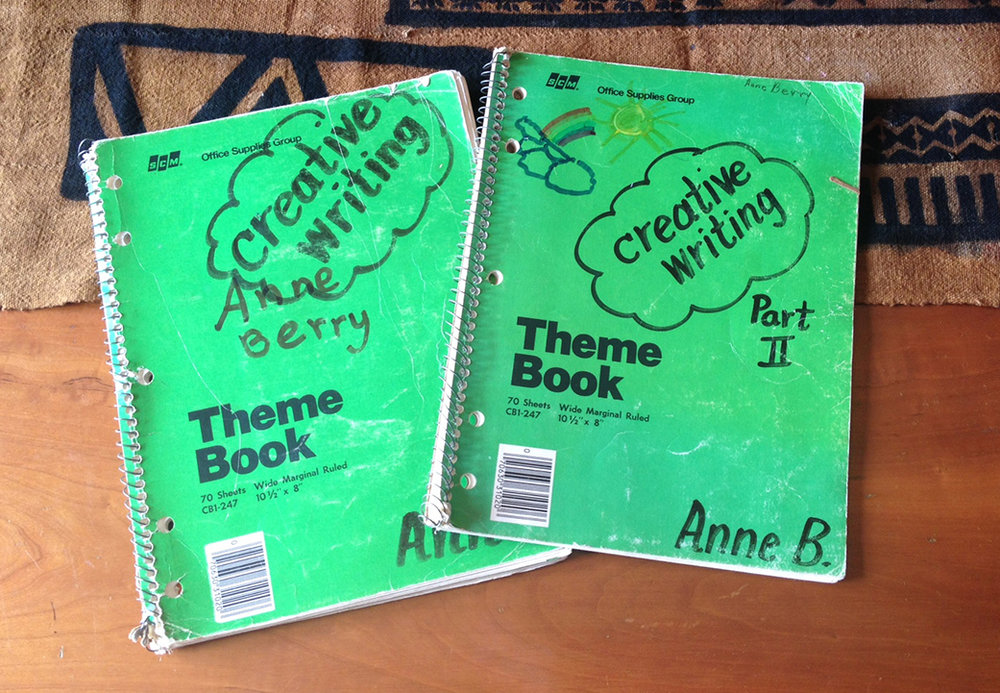 My creative writing books, 1983-84