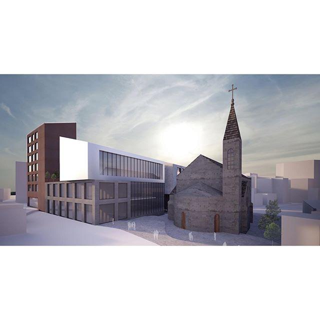 CA2O Architects - Bebekli Kilise Adana #saintpaul #adana #ca2o #ca2oarchitects #adana#ongoing#3drendering