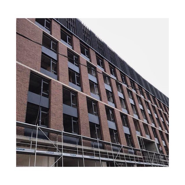 Bureau DoubleTree by Hilton - CA2O Architects - MMS #ongoing project #worksite #facade