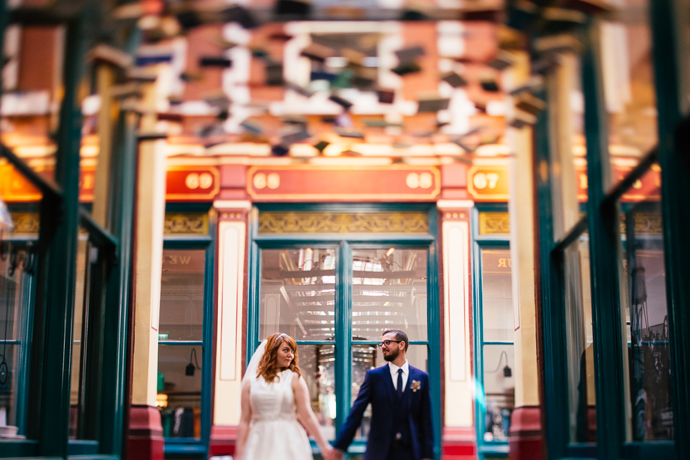 Creative Artistic Documentary London Wedding Photographer Leadenhall Market (59 of 97).jpg