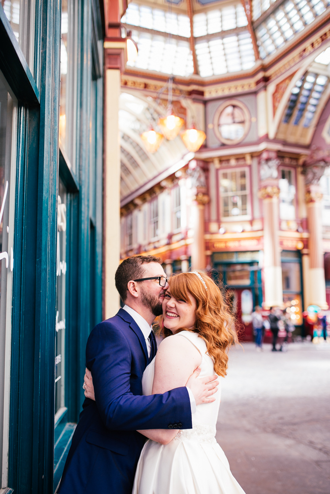 Creative Artistic Documentary London Wedding Photographer Leadenhall Market (63 of 97).jpg