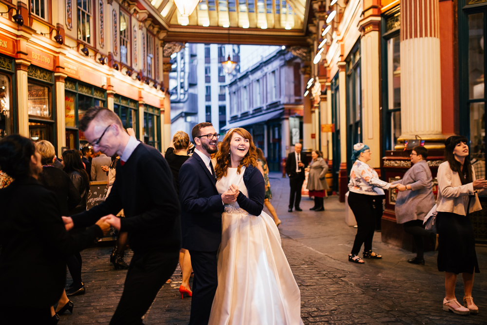 Creative Artistic Documentary London Wedding Photographer Leadenhall Market (95 of 97).jpg