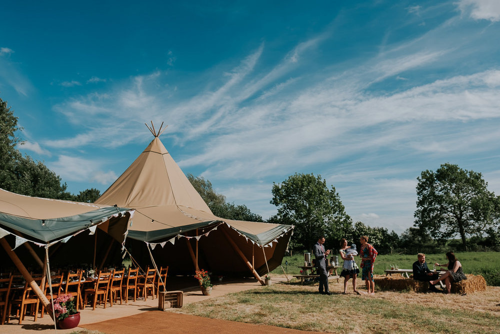 Cool Wedding Joanna Nicole Photography Farm Alternative Creative Tipi Tentario Fowlmere Cambridgeshire Fun Relaxed Photographer (57 of 108).jpg