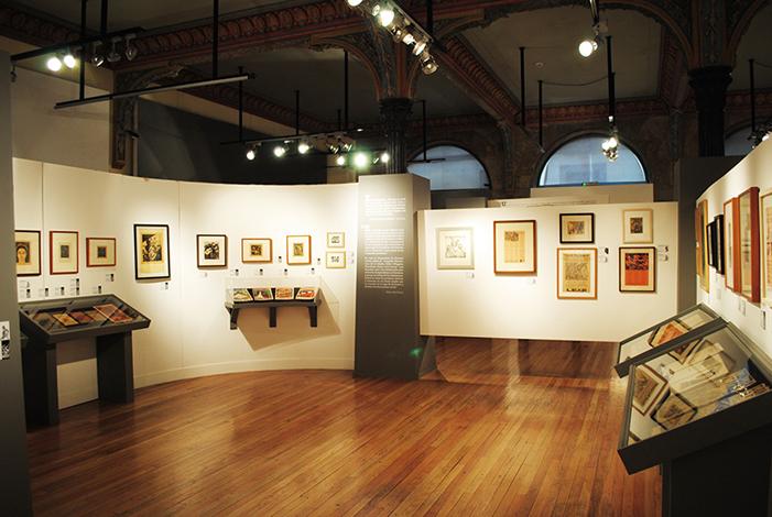 FOTO VÍA MUSEO DEL ESTANQUILLO. EXPOSICIÓN: PASIÓN SOBRE PAPEL. LEOPOLDO MÉNDEZ Y EL TALLER DE GRÁFICA POPULAR