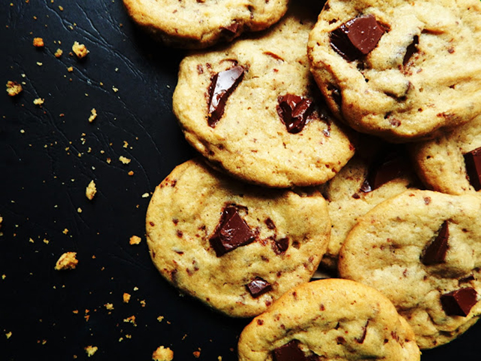 FOTO VÍA BRUNI´S BOULANGERIE -THE BEST BROWN BUTTER CHOCOLATE CHUNK COOKIES