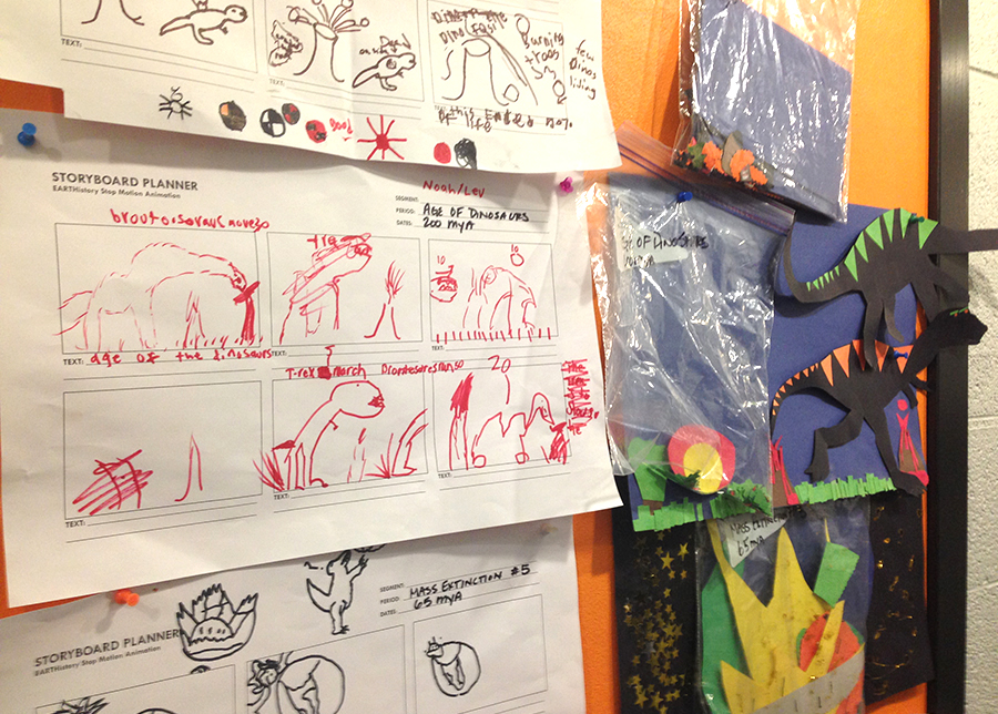 Storyboarding wall.JPG