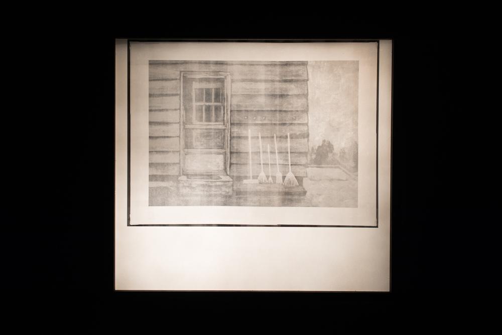 Knock, Knock  Digital Radiogram in artist lightbox  24 x 32 in.