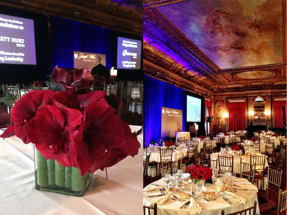 Wharton Business School Club of New York with  Sequence  at  Metropolitan Club   Right photo: Faye Rausch