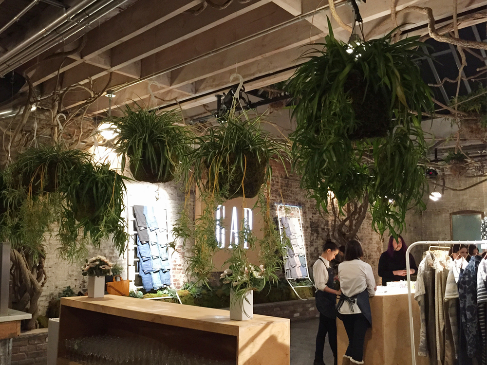 GAP Spring 2015 Press Preview at Gansevoort Market