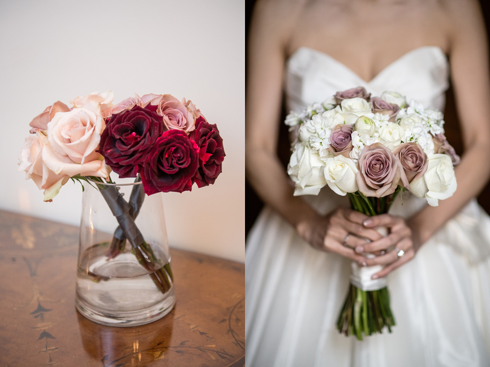 Roses of all kinds for bouquets.   Photo:  Brian Hatton Photography