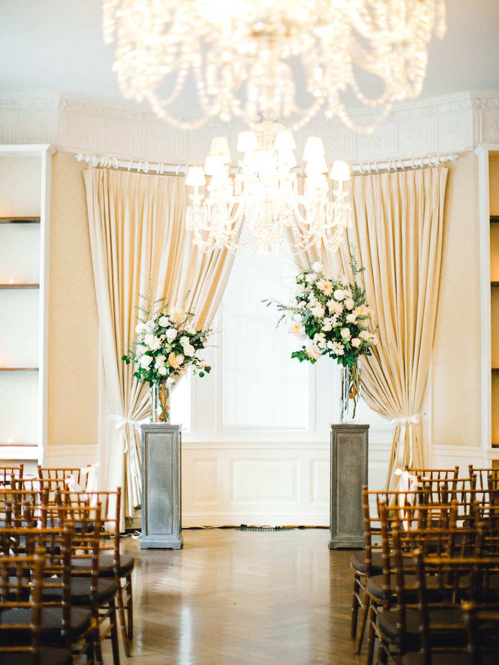 Photography:  Charla Storey   Planning:  Vision Event Co.   Venue:  Harold Pratt House + Peterson Hall