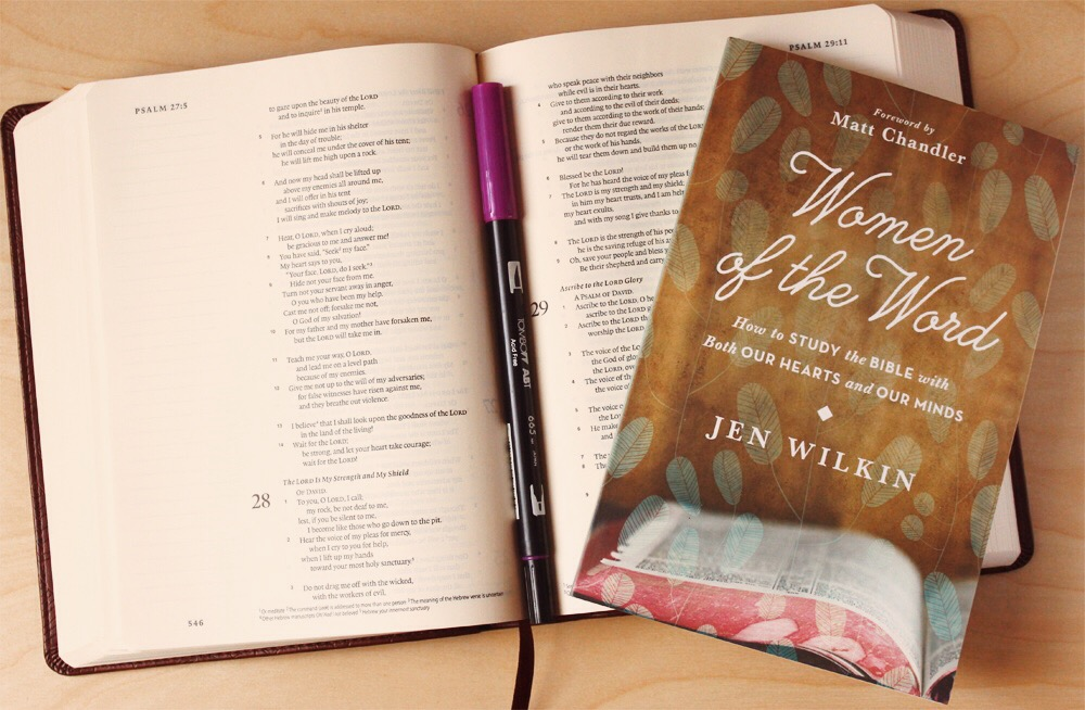 new journaling esv bible . illustrated faith . women of the word . jen wilkin - Daughter Zion Designs