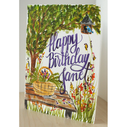 Happy Birthday! Three Custom Cards