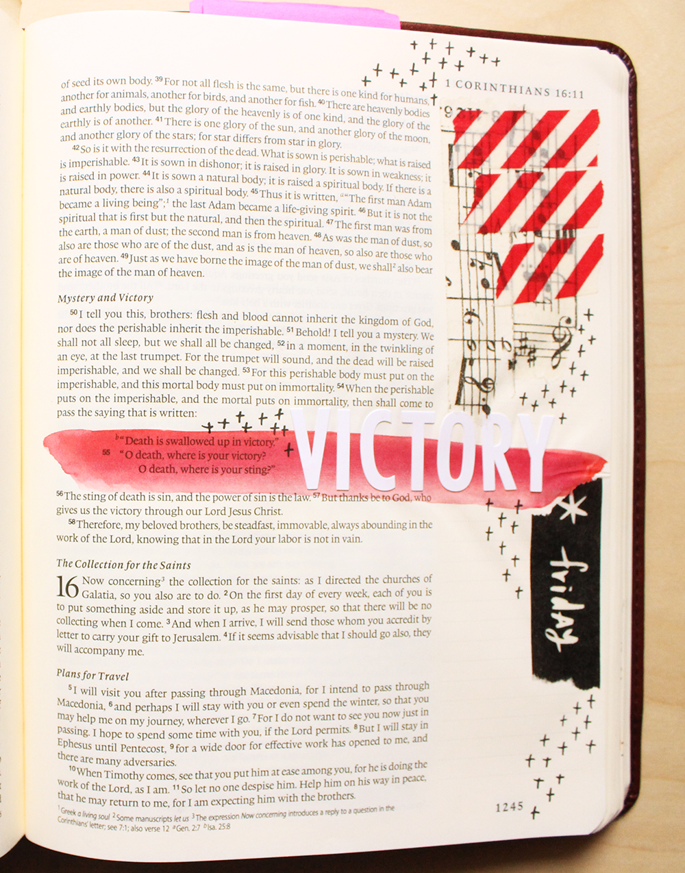 Victory -  Illustrated Faith by Daughter Zion Designs