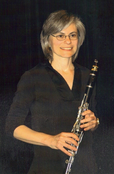 Gail in the Lake Forest Civic Orchestra