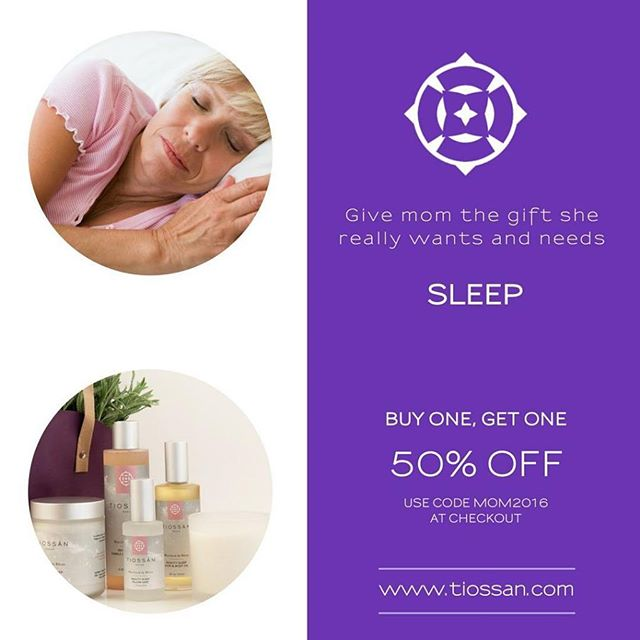 "Did you know? Sleep deprivation among women is being called a Health Epidemic according to the CDC.  SLEEP = HEALTH = BEAUTY + GLOWING SKIN + GORGEOUS HAIR! This is why we developed an entire collection designed to help you sleep with heavenly scents of lavender and petitgrain essential oils. Discover ""Marchand de Rêves"" (""The Merchant of Dreams"" in French), our Beauty Sleep line designed specifically to help you unwind and relax, so can sleep deeply and wake up well rested, feeling and looking fabulous! Enjoy a cool buy one get one 50% off on our entire online boutique. Head to www.tiossan.com and enter coupon code MOM2016 at checkout!  #Sleep #CDC #Health #Greenbeauty #BBloggers #Hair #Mothersday #gift #Dreams #BlackSeedOil #Lavender"